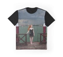 And In A Handful Of Heartbeats, The Rain Rolled In~~~~ Graphic T-Shirt