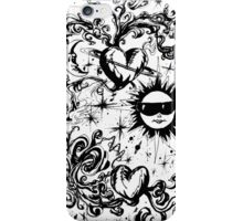 sun moon and stars iPhone Case/Skin
