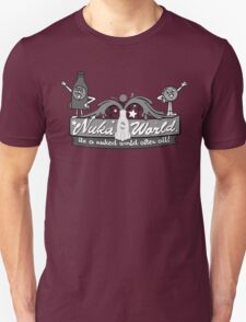 Nuka World - Black & White Logo Unisex T-Shirt