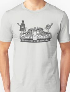 Nuka World - Black & White Logo T-Shirt