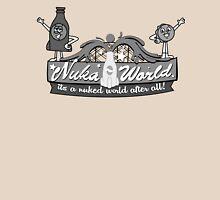 Nuka World - Black & White Logo Classic T-Shirt