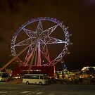 Melbourne Wheel - Australia by Paul Campbell  Photography