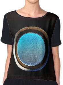 Porthole in a Potty (not what you're thinking) Chiffon Top