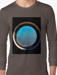 Porthole in a Potty (not what you're thinking) Long Sleeve T-Shirt