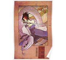 Woodblock - Sasuke Poster