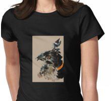 Brandy Scottie Dog Womens Fitted T-Shirt