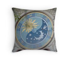 A Clock Tick Tock Once SKYBUCKET Throw Pillow