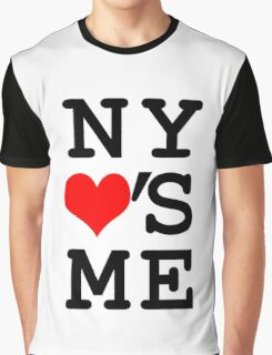 New York Loves Me Graphic T-Shirt