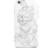 Goku Fusion with Vageta  iPhone Case/Skin