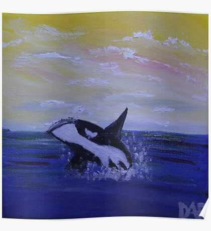Whale Hello There! Poster