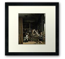 Little Big Infant Framed Print