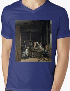 Little Big Infant Mens V-Neck T-Shirt