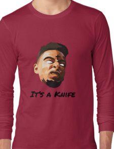 "21 Savage ""It's a knife"" Long Sleeve T-Shirt"