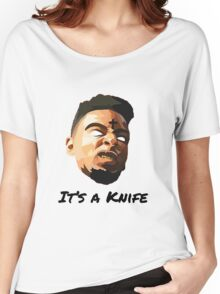 """21 Savage """"It's a knife"""" Women's Relaxed Fit T-Shirt"""