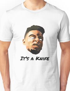 "21 Savage ""It's a knife"" Unisex T-Shirt"