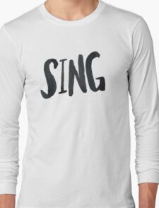 Sing Long Sleeve T-Shirt