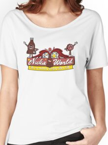 Nuka World - Color Logo Women's Relaxed Fit T-Shirt