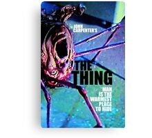 THE THING 9 Canvas Print