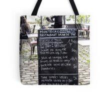 41 Lunch @ Village Saint Paul Tote Bag