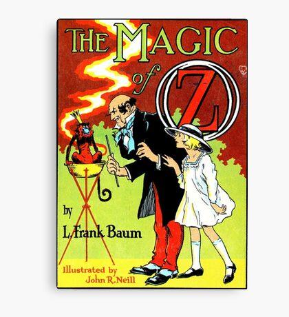 The Magic of Oz Canvas Print