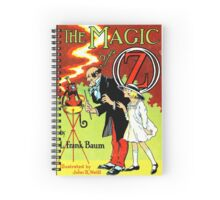 The Magic of Oz Spiral Notebook