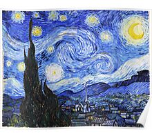 The Starry Night Van Gogh Poster