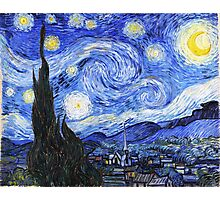 The Starry Night Van Gogh Photographic Print