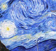 The Starry Night Van Gogh Sticker