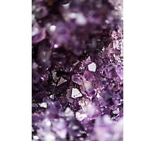 Geode Crystals Photographic Print