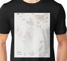 USGS TOPO Map Arizona AZ Chico Shunie 20111025 TM Unisex T-Shirt