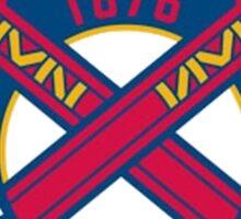 America's Game - Atlanta Braves Sticker