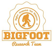 Orange Bigfoot Research Team by kwg2200