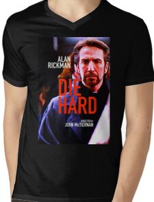 DIE HARD Mens V-Neck T-Shirt