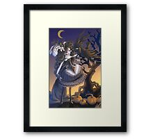 New Gothic Girl  Framed Print