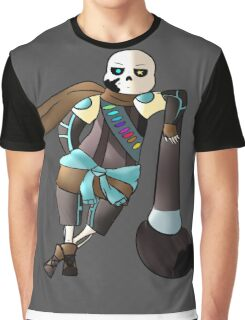 """Ink Sans """"Why are you here?"""" Graphic T-Shirt"""