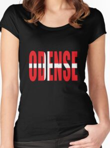 Odense. Women's Fitted Scoop T-Shirt