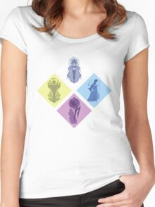 Order of the Diamonds SU Women's Fitted Scoop T-Shirt
