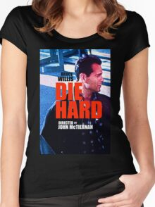 DIE HARD 2 Women's Fitted Scoop T-Shirt