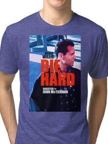 DIE HARD 2 Tri-blend T-Shirt