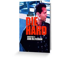 DIE HARD 2 Greeting Card