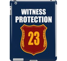 """Witness"" Protection Inverse - We are all witnessnes iPad Case/Skin"