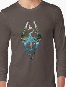 Skyrim! Long Sleeve T-Shirt