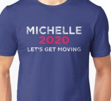 Michelle 2020 Distressed  Unisex T-Shirt