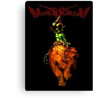 Bears (retro Nekrogoblikon shirt) Canvas Print