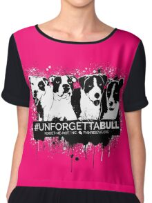 UnforgettaBULL (Pink Collection!) Chiffon Top