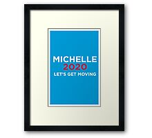 Michelle 2020 Framed Print