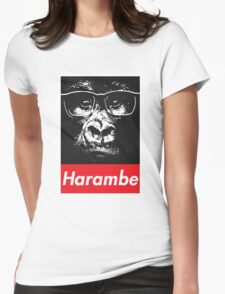 HARAMBE | 2016 Womens Fitted T-Shirt