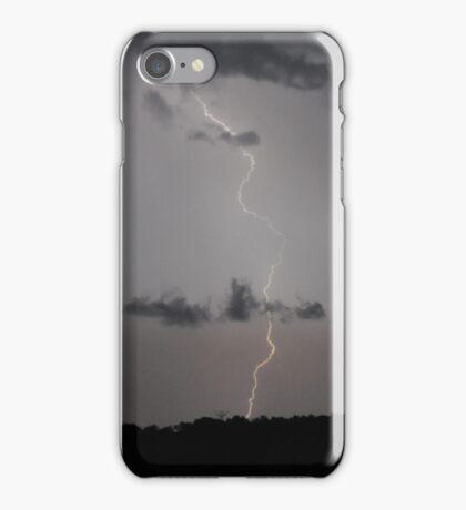 Lightning Strike-Selma 8/28/16 iPhone Case/Skin