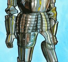 Ghost in armor Sticker