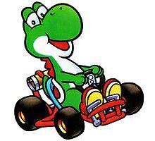 Yoshi karting by Guiles174